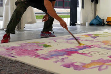FIRMEN MALEN - ACTION! Painting in Linz